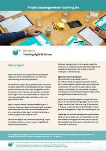 Brochure Agile & Scrum training