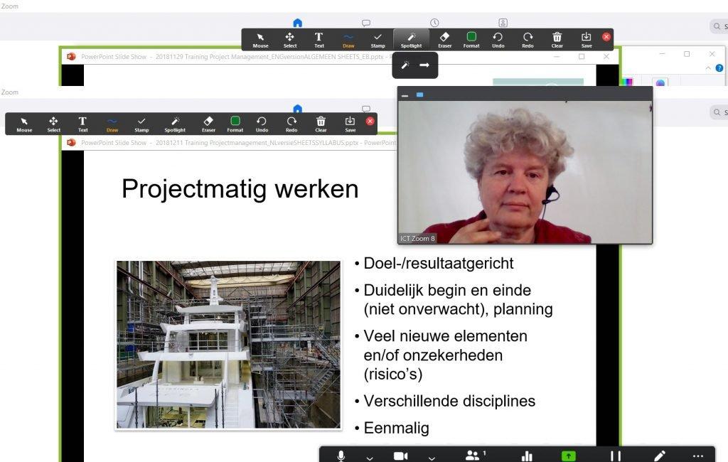 online live project management training